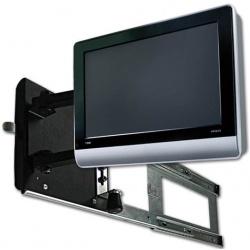 Support TV LCD latéral coulissant sécurisé