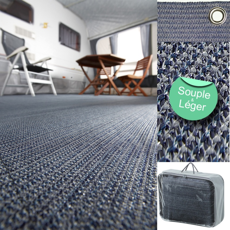 Tapis De Sol Bayasun Floor Mat 6m X 2 50m Gris Camping Car Caravane