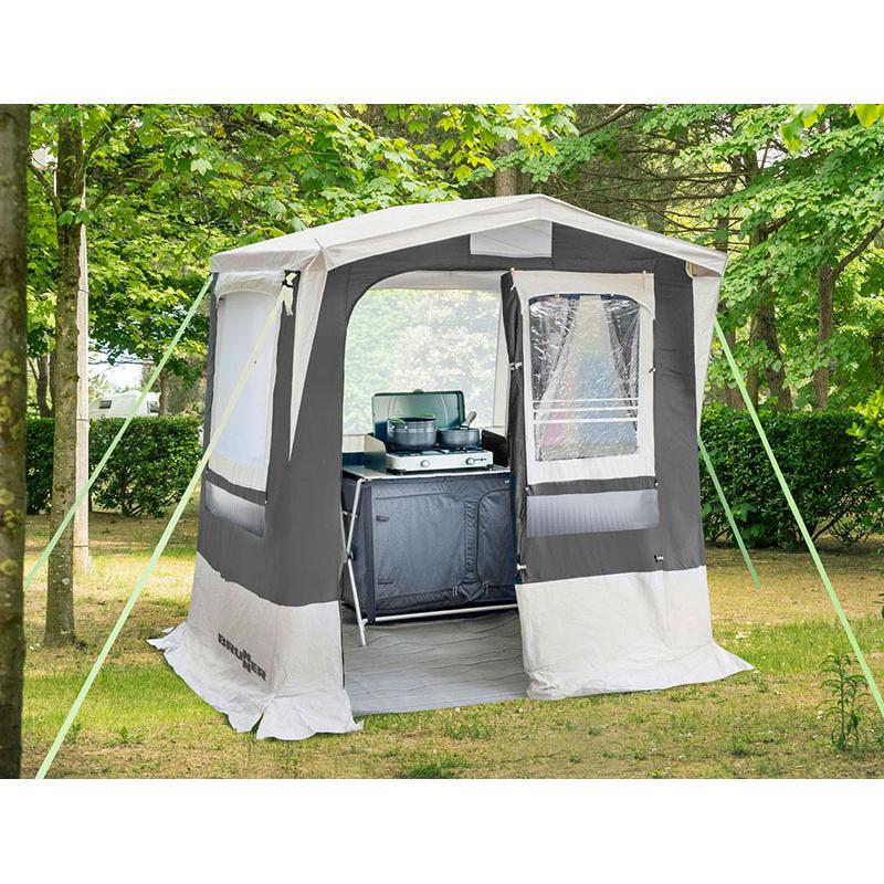 Annexe cuisine gusto ng brunner for Tente cuisine camping