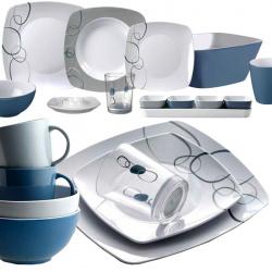 gamme vaisselle mélamine CASCADE BRUNNER