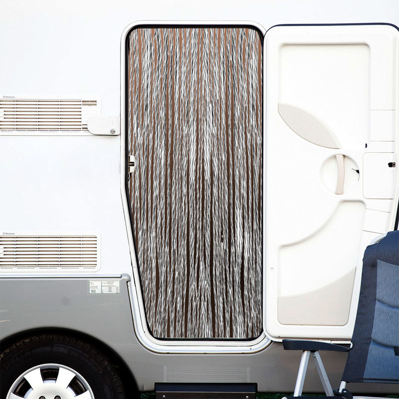 rideau anti insectes volants pour porte de caravane et camping car. Black Bedroom Furniture Sets. Home Design Ideas