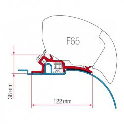 ADAPTATEUR F65 FIAT DUCATO 2P