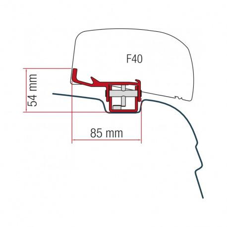 Adaptateur store FIAMMA F40 Van