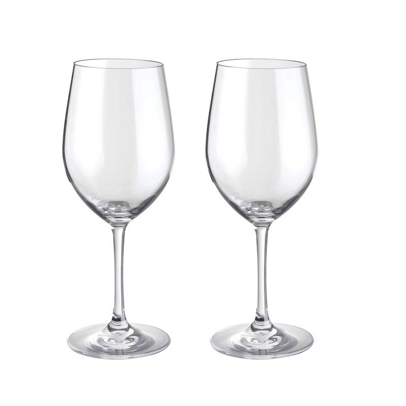 Set de 2 verres à vin pour vin rouge 60 cl Leader Loisirs