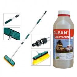 Kit lavage complet Clean Caravaning 1L