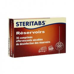 STERITABS désinfectant réservoirs