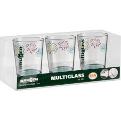 Set de 3 verres 30 cl Belfiore