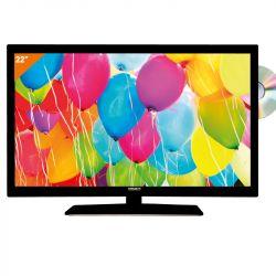 Téléviseur LED 55 cm avec lecteur DVD / DIVIX
