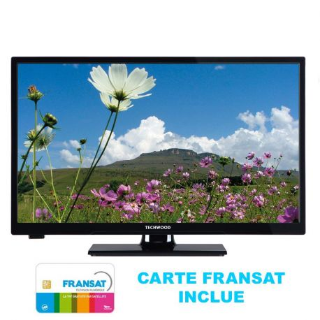 "DIGIHOMME - TV LED MPEG 4 20"" (50 cm)avec tuner satellite et carte incluse"