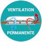 ventilation permanente