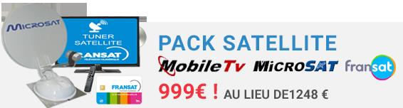 Pack Satellite ASTERIA